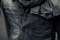 "streetetiquette: [ Street Etiquette x Gstar ""The unlimited possibilities of styling ] Denim on Denim"
