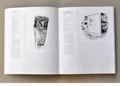 Work: c de c Annual | Astrid Stavro #layout #book #typography