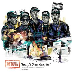 Straight Outta Compton Cover reinterpreted #nwa #music #hiphop