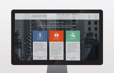 Asbahi Law Group Website Design | Nudge #law #presentation #web