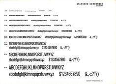 Akzidenz Grotesk Condensed type specimen #type #specimen #typography