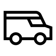 See more icon inspiration related to van, truck, shipping and delivery, delivery truck, cargo truck, trucks, transportation and transport on Flaticon.