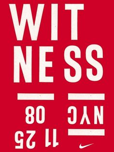 Michael Spoljaric #nike #basketball #typography #poster