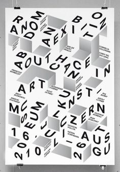Symmetry Symptom #typography #poster