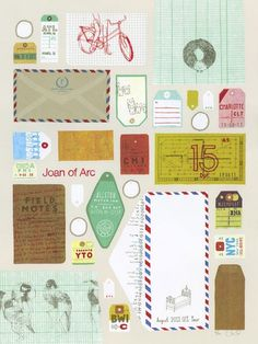Design Work Life » cataloging inspiration daily #design #hand #vintage #crafted