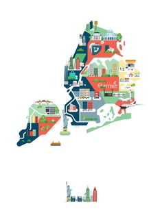 Cities of America on Behance
