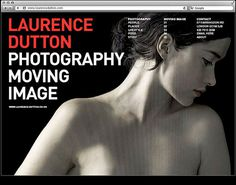 laurence Dutton by Ascend Studio #design #image #website #ascend #photography #moving