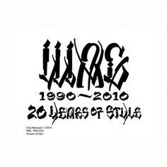 wag_chaz-bojorquez-side.jpg 650×650 pixels #calligraphy #lettering #chaz #art