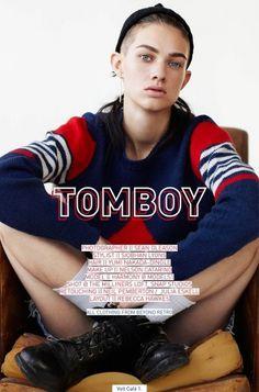 Tomboy | Volt Café | by Volt Magazine #beauty #design #graphic #volt #photography #art #fashion #layout #magazine #typography