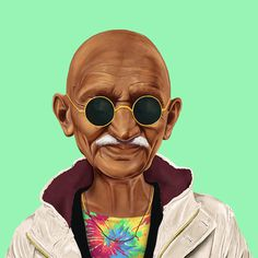 Amazing Hipstory Illustration by Amit Shimoni