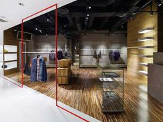 And A shop by Moment Design, Yokohama store design #retail