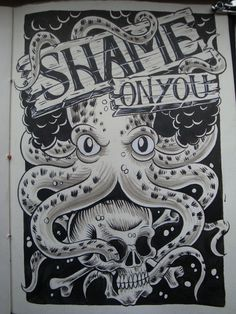 Project 365 days part 5 on Typography Served #octopus