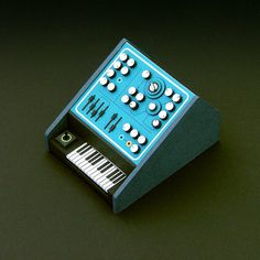 Analogue Miniature 15 #miniatures #synth #craft #art #paper