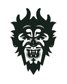 Nain Rouge Illustration - joebenghauser.com #vector #white #black #devil #illustration #portrait #demon #and