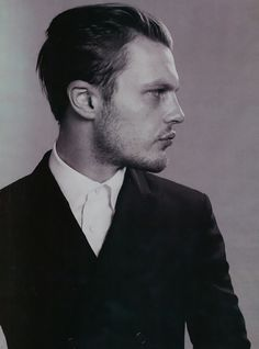 Michael Pitt Panorama Icon Magazine Prada Editorial • Selectism #michel #suit #men #pitt