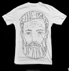 shirt design for Meadow #apparel #design #graphic #illustration #portrait #art #clothingline #fashion