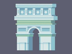 Arc de Triomphe #illustration