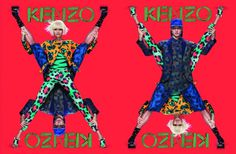 kenzo ad campaign spring summer 2013 #fashion