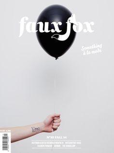 Faux Fox (Vienne / Vienna, Autriche / Austria) #magazine #cover