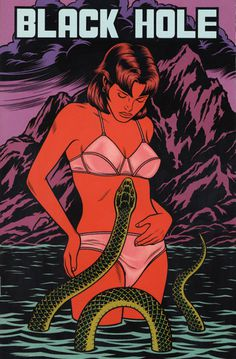 charles burns | Tumblr #illustration #snake
