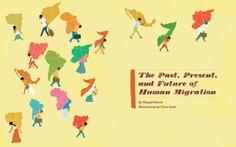 University of Pennsylvania | A history of human migration #illustration