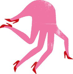 image #illustration #hand #heels