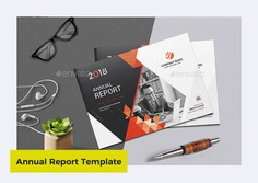 Annual Report Template by Creativity-Design