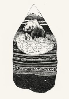 AlaskaArtPat Perry #illustration