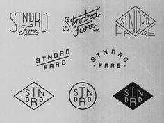 More STNDRD FARE #monoline