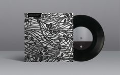 "Violent Past / Sudden Death of Stars Split 7"" #past #labels #white #violent #print #of #black #sudden #record #vinyl #stars #death"