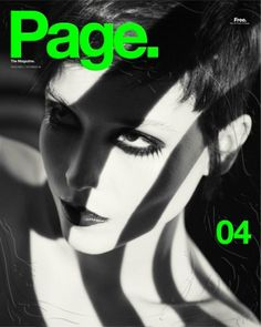 Page. The Magazine. #page #design #cover #photography #magazine