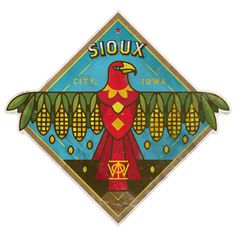 Sioux City by Dan Christofferson #logo #crest #bird