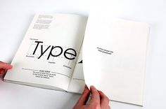 Laia Sacares.It's All About Type Editorial Design #typography