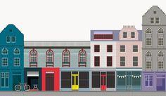 Greater Grassmarket Branding illustration by Felt (feltstudio.co)
