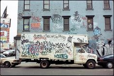 12ozProphet Forum Shot of the Day: Mid-90's NYC Boxtruck - News - 12ozProphet.com #graffiti #city #bombing #90s #tags #york #nyc #new