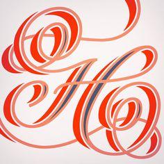 H_adel #lettering