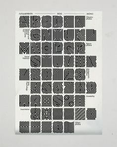 Jangs Müller #type #labyrinth #inline #display-font
