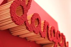 Art Made From Matches by Pei San Ng | PICDIT #red #matches #art