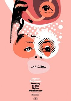 Heath Killen's Film Posters | Ape on the Moon: Contemporary Visual Arts #ingmar #bergman #poster #film
