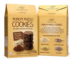 munchymuesli #packaging #cookies #box