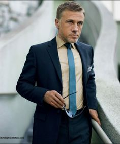 Merde! - iamsangsouvanh: Christoph Waltz for GQ. #fashion #photography