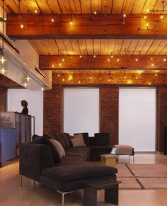 20+ Cool Basement Ceiling Ideas #basement #interior #architecture #ceiling