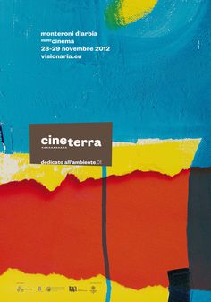 Cineterra_Visionanria #blu #canefantasma #red #festival #yellow #paint #art #film