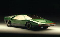 Bertone 14 #industrial #retro #car #bertone