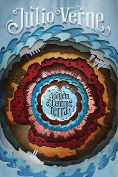 All sizes | VIAGEM AO CENTRO DA TERRA | Flickr - Photo Sharing! #cover #book