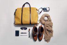 Category: Talents » Jonas Eriksson #mens #essentials #scarf #mustard #bag #boots