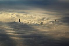 Magical Worlds Exist Just Above the Clouds My Modern Metropolis #clouds #city #the #photography #above