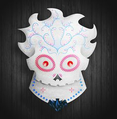 Calavera Dia de Muertos on the Behance Network