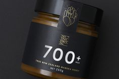 #packaging #product #food #branding #identity #black #gold #foil #type