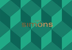 The simons is a luxury branding that includes beautiful stationary and other materials such as corporate design business cards as part of an graphic identity designed by studio Cossette. Find more of the most beautiful designs on mindsparklemag,com